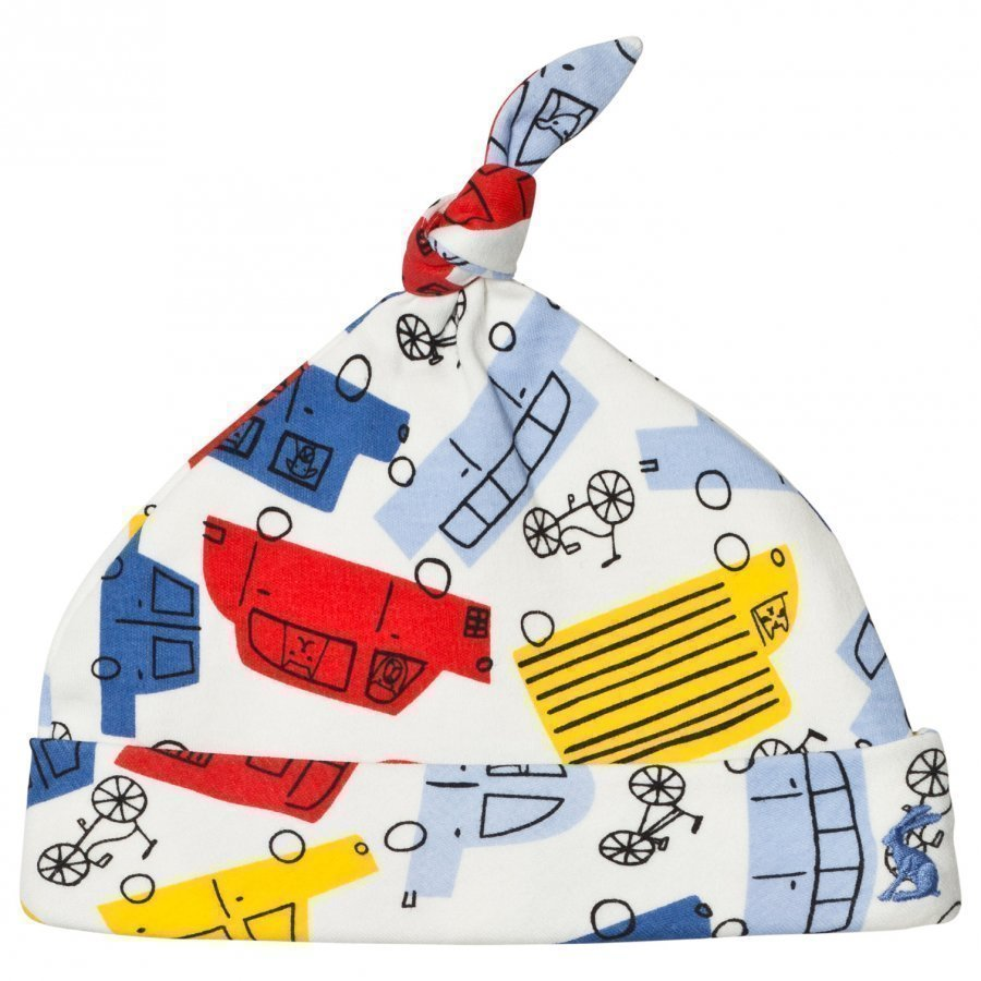 Tom Joule Multi Colour Car Print Hat Pipo