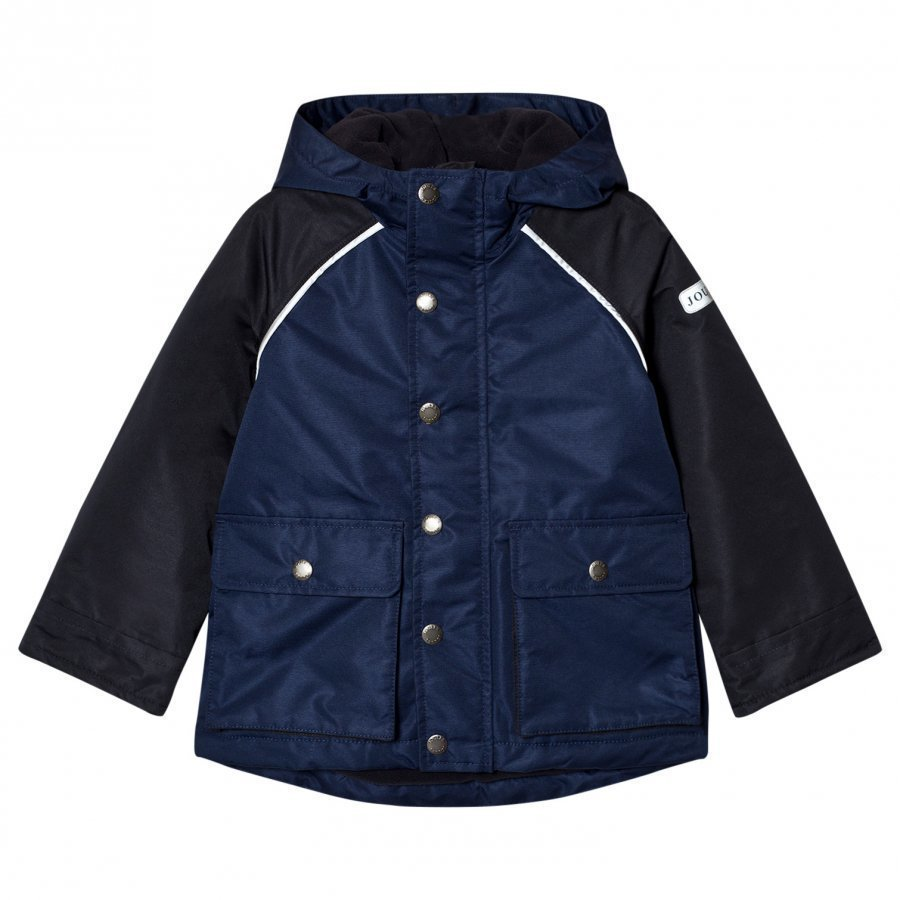 Tom Joule Navy Blue Waterproof Hooded Coat Sadetakki