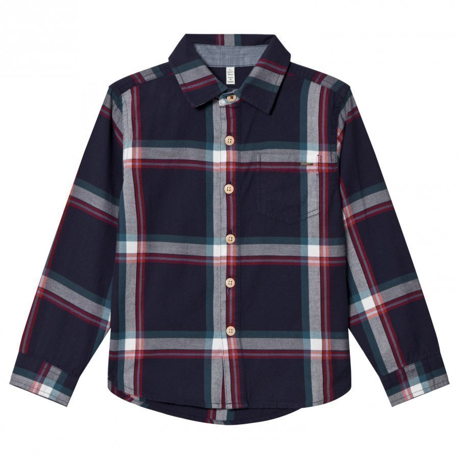 Tom Joule Navy Check Shirt Kauluspaita