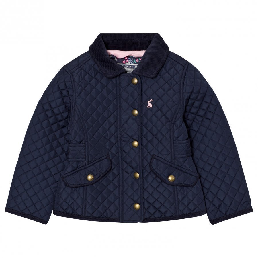 Tom Joule Navy Quilted Jacket Tikkitakki