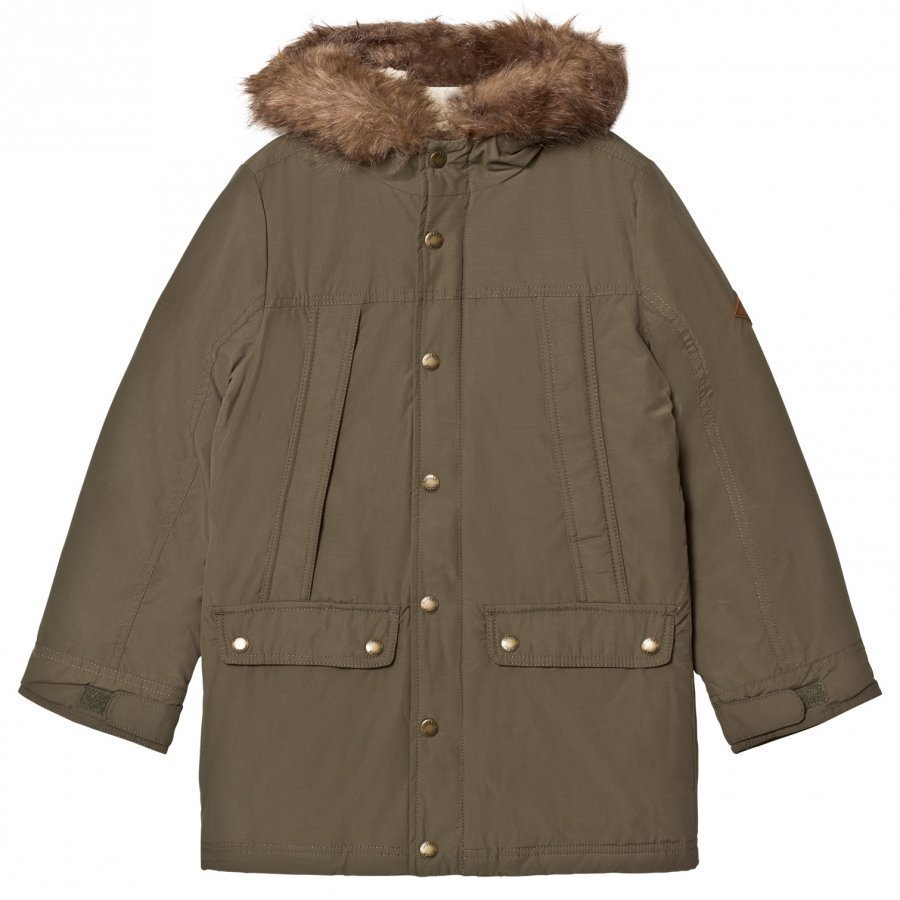 Tom Joule Noah Parka Grape Leaf Parkatakki