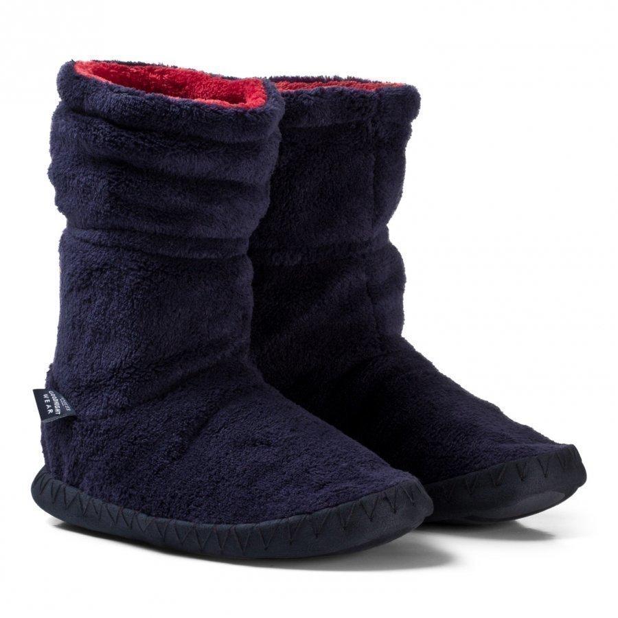Tom Joule Padabout Fleece Slipper Socks Korkeavartiset Tossut