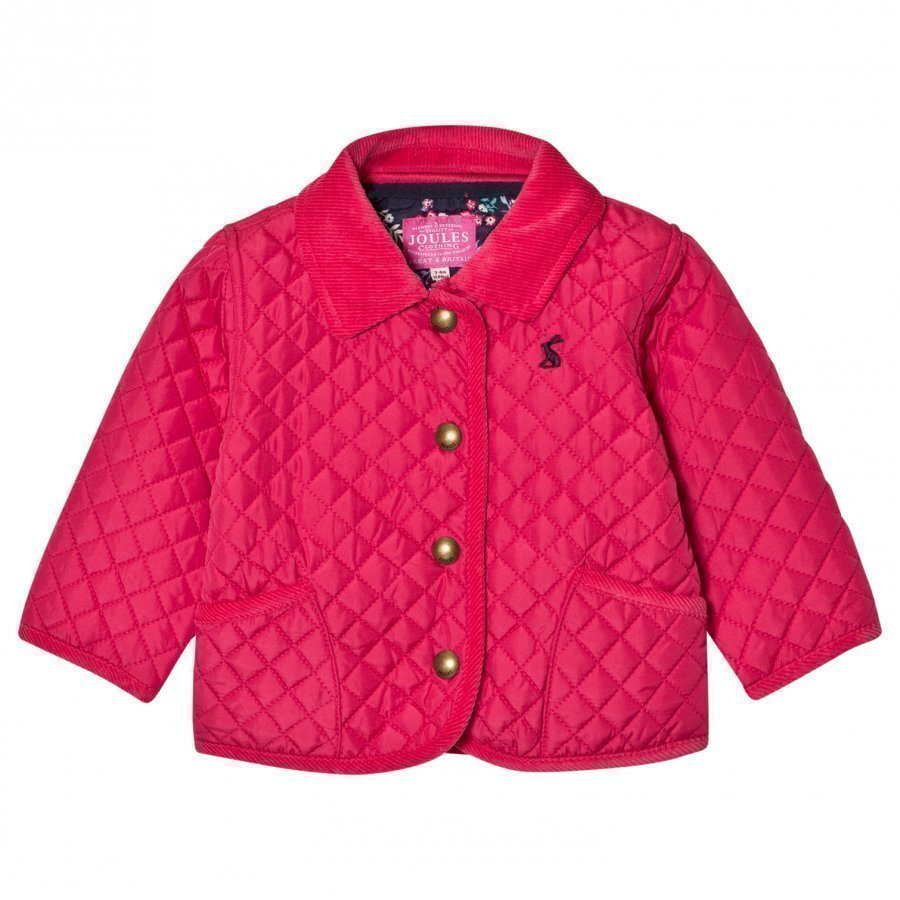 Tom Joule Pink Quilted Jacket Tikkitakki