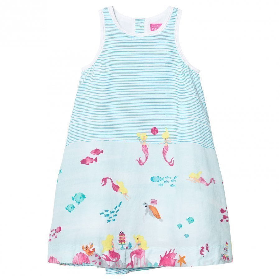 Tom Joule Turquoise Under The Sea Print Dress Mekko