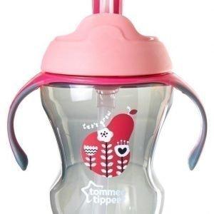 Tommee Tippee Easy Drink Straw Läikkymätön muki 6kk+ 230ml