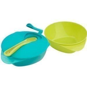 Tommee Tippee EasyScoop -ruokailusetti Sininen/Vihreä