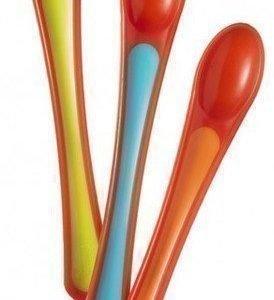 Tommee Tippee Explora Heat Sensor Weaning Spoons 3 kpl