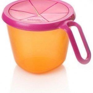 Tommee Tippee Explora Snack & Go Pinkki/oranssi