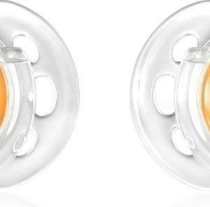 Tommee Tippee Tutti Air-Style 0-6 kk 2 kpl Oranssi