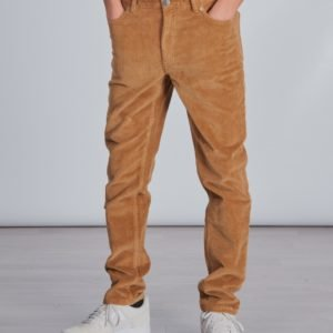 Tommy Hilfiger 1988 Modern Tapered Cord Housut Ruskea
