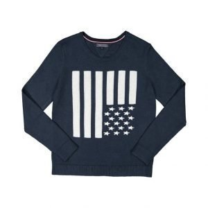 Tommy Hilfiger Allegra American Flag Neule