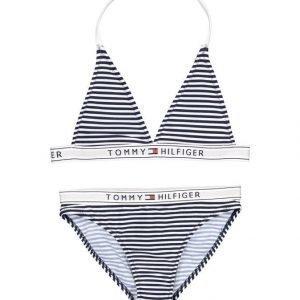 Tommy Hilfiger Ame Bi Color Stripe Bikinit