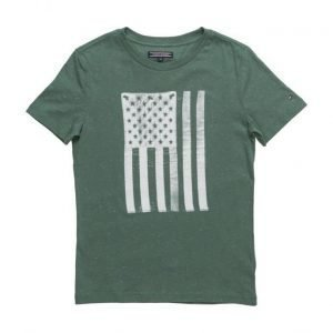 Tommy Hilfiger Ame Flag Cn Tee S/S