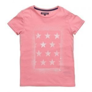 Tommy Hilfiger Ame Girls Iconic Cn Knit S/S