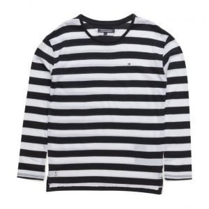 Tommy Hilfiger Ame Girls Stripe Cn Knit L/S
