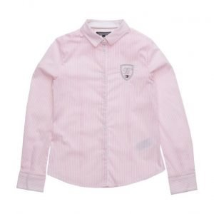 Tommy Hilfiger Ame Stripe Girls Shirt L/S