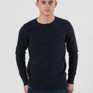 Tommy Hilfiger Basic Htr Cn Sweater L/S Neule Sininen