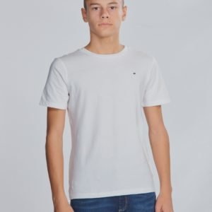 Tommy Hilfiger Boys Basic Cn Tee T-Paita Valkoinen