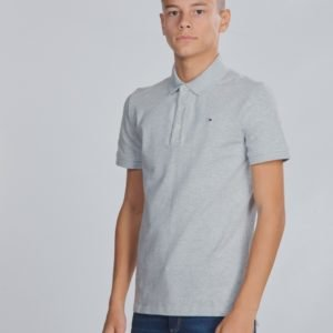 Tommy Hilfiger Boys Tommy Polo S/S Pikee Harmaa