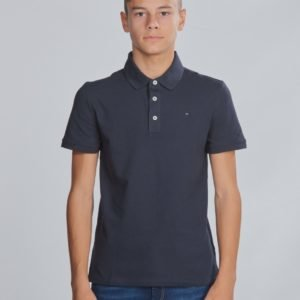 Tommy Hilfiger Boys Tommy Polo S/S Pikee Sininen