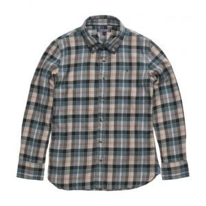 Tommy Hilfiger Brushed Twill Check Shirt L/S