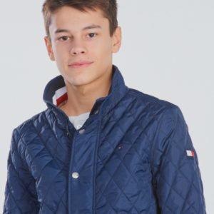 Tommy Hilfiger Classic Quilted Jacket Takki Sininen