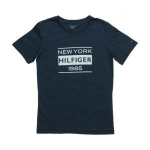 Tommy Hilfiger Cotton Cn Tee Ss Icon Print