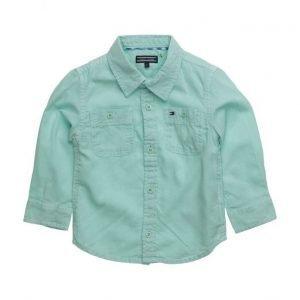 Tommy Hilfiger Cotton Linen Shirt L/S