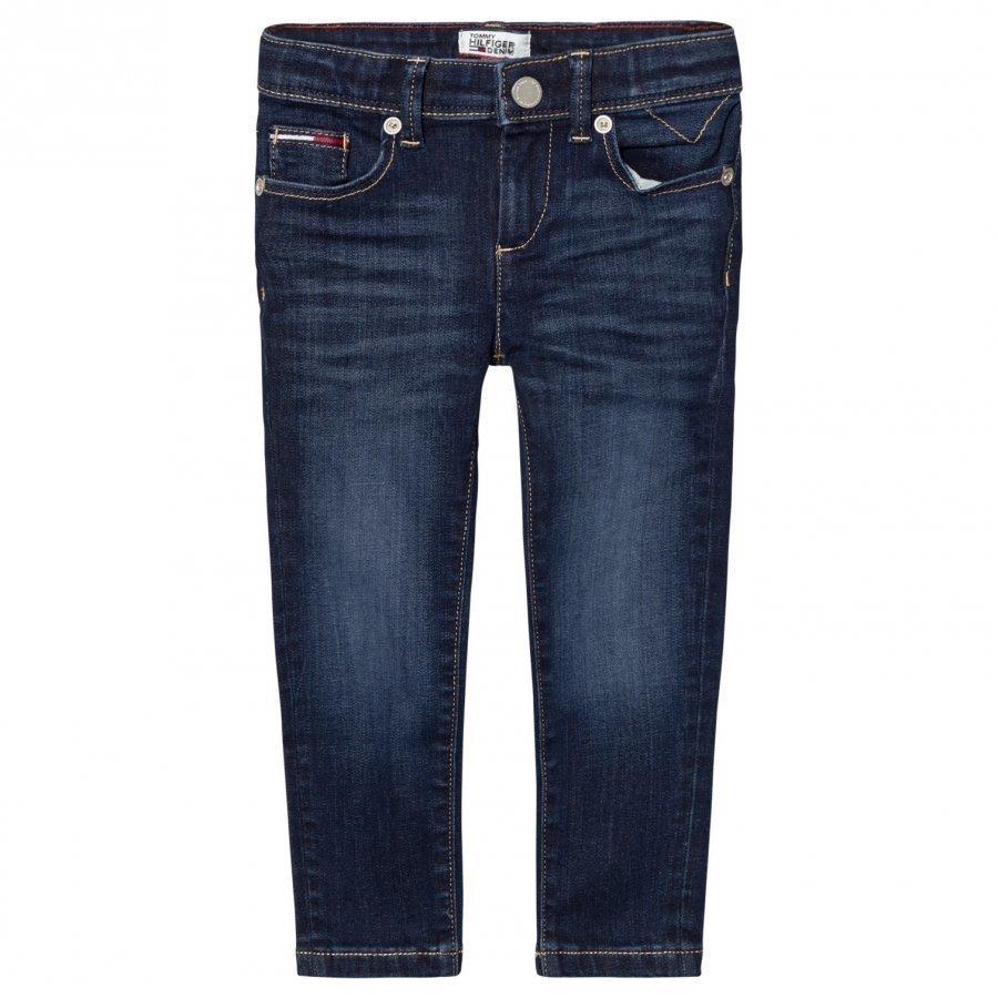Tommy Hilfiger Dark Wash Scanton Skinny Jeans Farkut