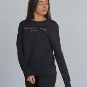 Tommy Hilfiger Essential Cn Sweatshirt Neule Musta