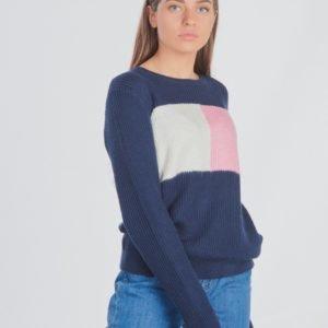 Tommy Hilfiger Essential Colourblock Sweater Neule Sininen
