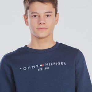 Tommy Hilfiger Essential Crewneck Sweatshirt Neule Sininen
