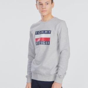 Tommy Hilfiger Essential Hilfiger Sweatshirt Neule Harmaa