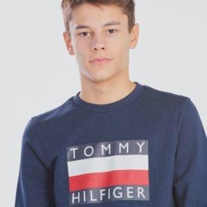 Tommy Hilfiger Essential Hilfiger Sweatshirt Neule Sininen