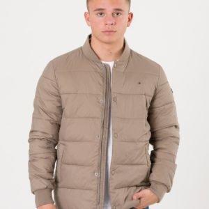 Tommy Hilfiger Essential Stepped Jacket Takki Beigestä