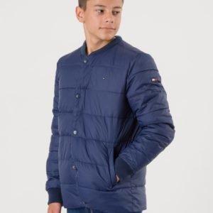 Tommy Hilfiger Essential Stepped Jacket Takki Sininen