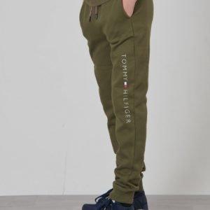 Tommy Hilfiger Essential Sweatpants Collegehousut Vihreä