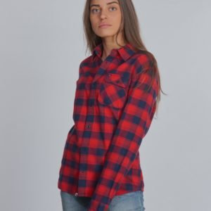Tommy Hilfiger Flannel Check Shirt Kauluspaita Punainen