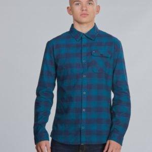 Tommy Hilfiger Flannel Check Shirt Kauluspaita Sininen
