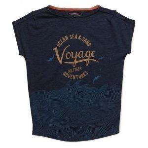 Tommy Hilfiger Girls Voyage Bn Knit S/S
