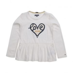 Tommy Hilfiger Hearts Mini Cn Knit L/S