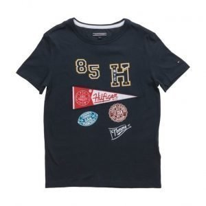 Tommy Hilfiger Multi Artwork Cn Tee S/S