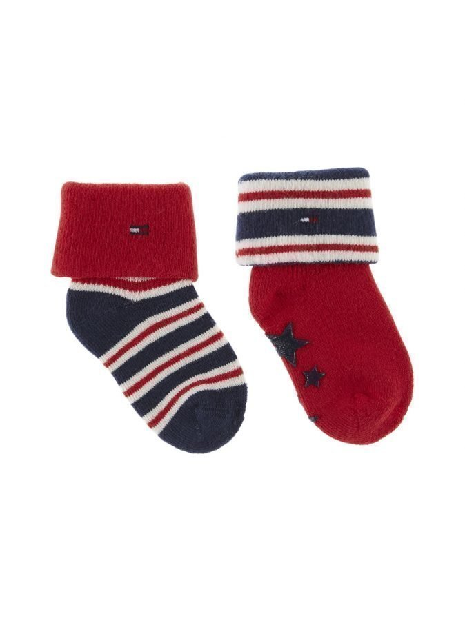 Tommy Hilfiger Stars And Stripes Vauvasukat 2 Pack
