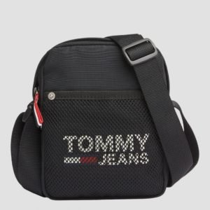 Tommy Hilfiger Tjm Cool City Mini Reporter Laukku Musta