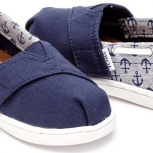 Toms Canvaskengät Biminis Navy Anchors