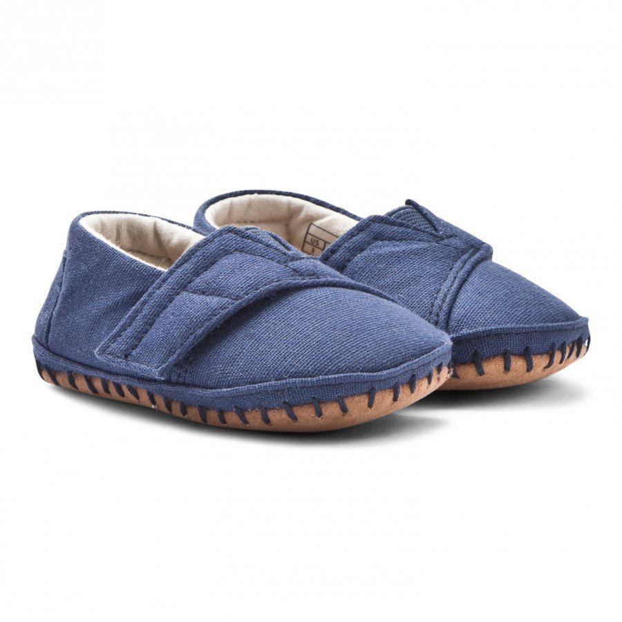 Toms Crib Alpargatas Navy Canvas Slip On Kengät