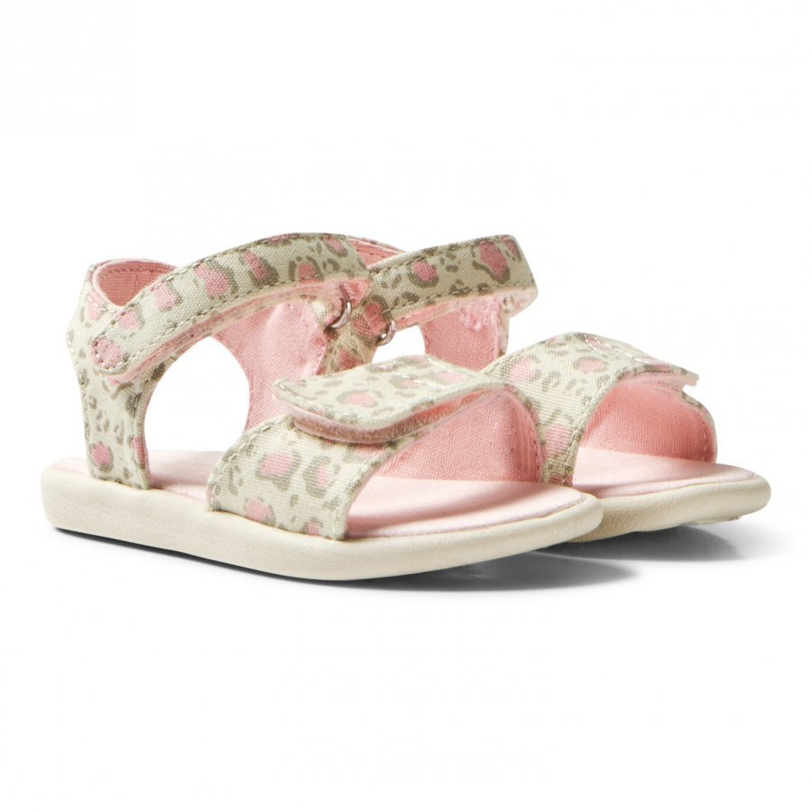 Toms Pale Pink Bob Cat Tiny Toms Strappy Sandals Remmisandaalit