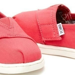 Toms Tennarit Canvas Barberry Pink