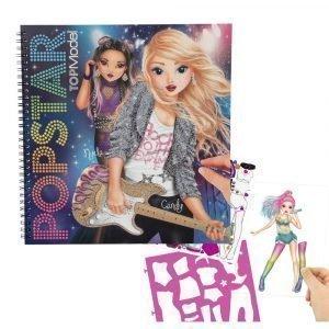 Topmodel Popstar Suunnittelukirja