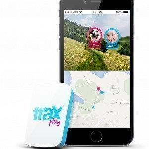 Trax Play Gps Tracker Blue Itkuhälytin